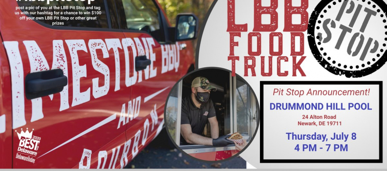 LBB Food Truck Pit Stop at Drummond Hill Pool