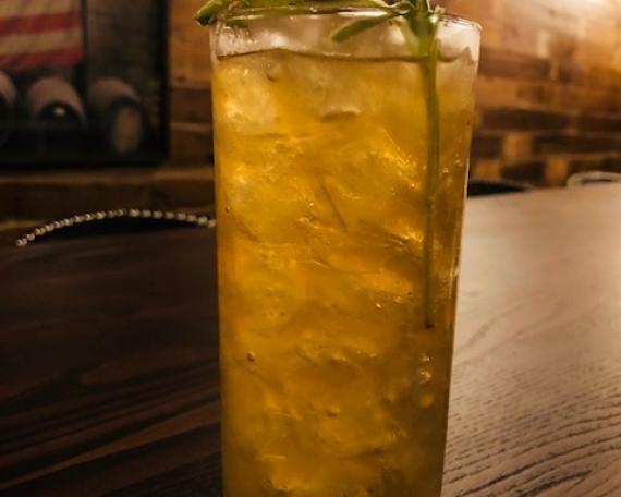 Bourbon Shake Up