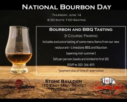 National Bourbon Day!